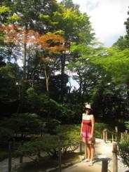 jardins pavillon d'argent Kyoto